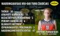 Arvydas Ivanauskas antrą kartą per paskutinius tris turus tapo naudingiausiu savaitės žaidėju.