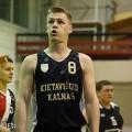 """,,Bauwerk-Boen2 komandos naujokas Mantas Staliulionis iš mažų miestelių krepšinio lygos komandos ,,Kietaviškių kalnas"""" buvo  rimta paspirtis elekrėniškiams kovojant dėl kamuolių."""